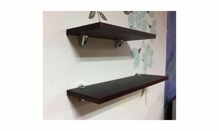 Korean Floating Wall Shelf Set Of Three W400 W600 Board Color