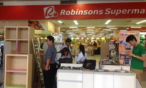 OTR Robinsons Cybergate showroom